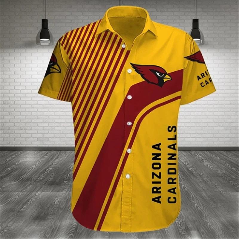 Arizona Cardinals NFL Cross Hawaiian Shirt