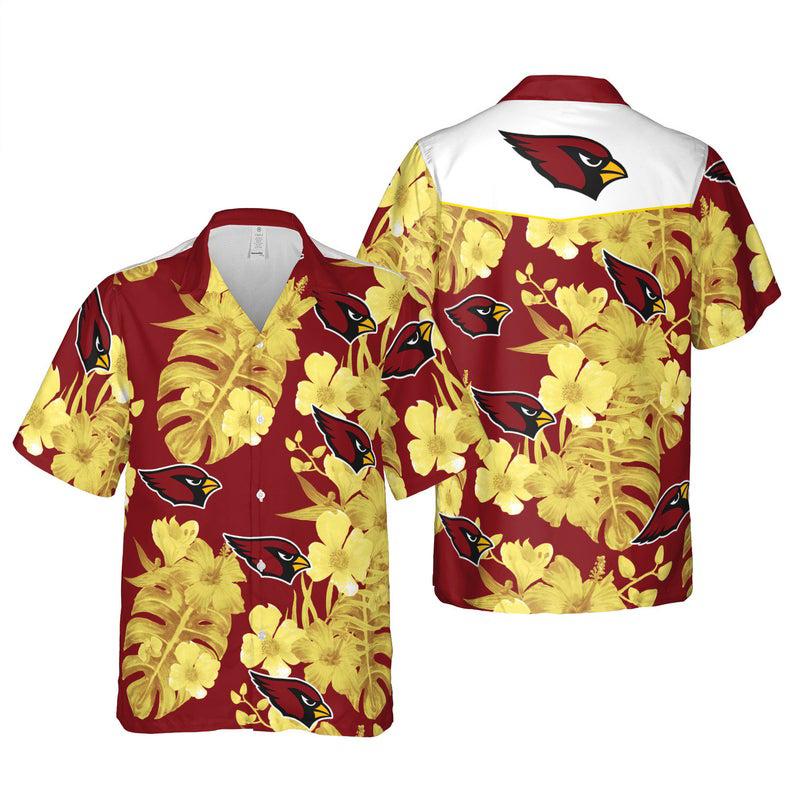 Arizona Cardinals NFL Floral Hawaii Shirt