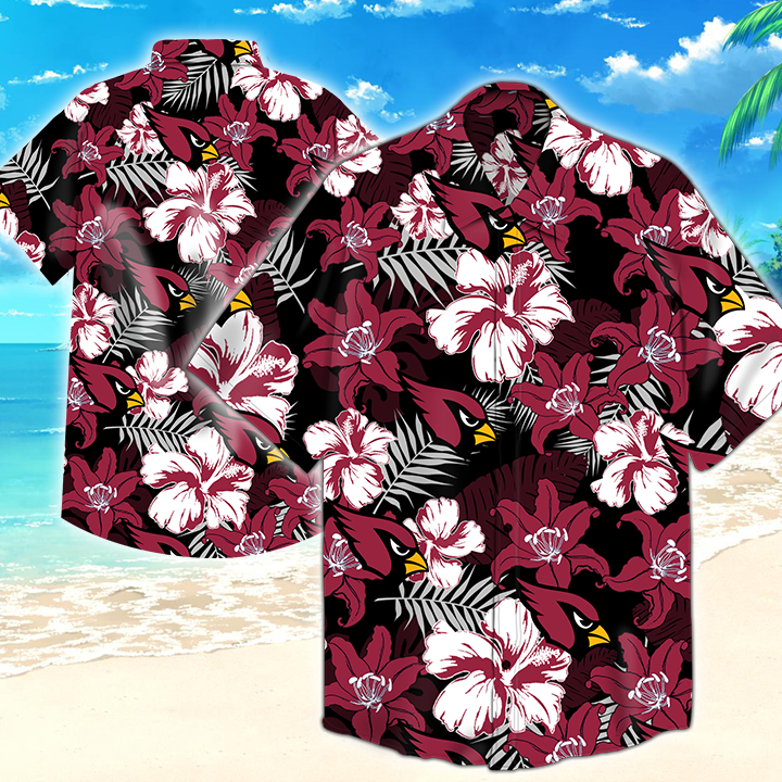 Arizona Cardinals Nfl Tommy Bahama Hawaiian Shirt