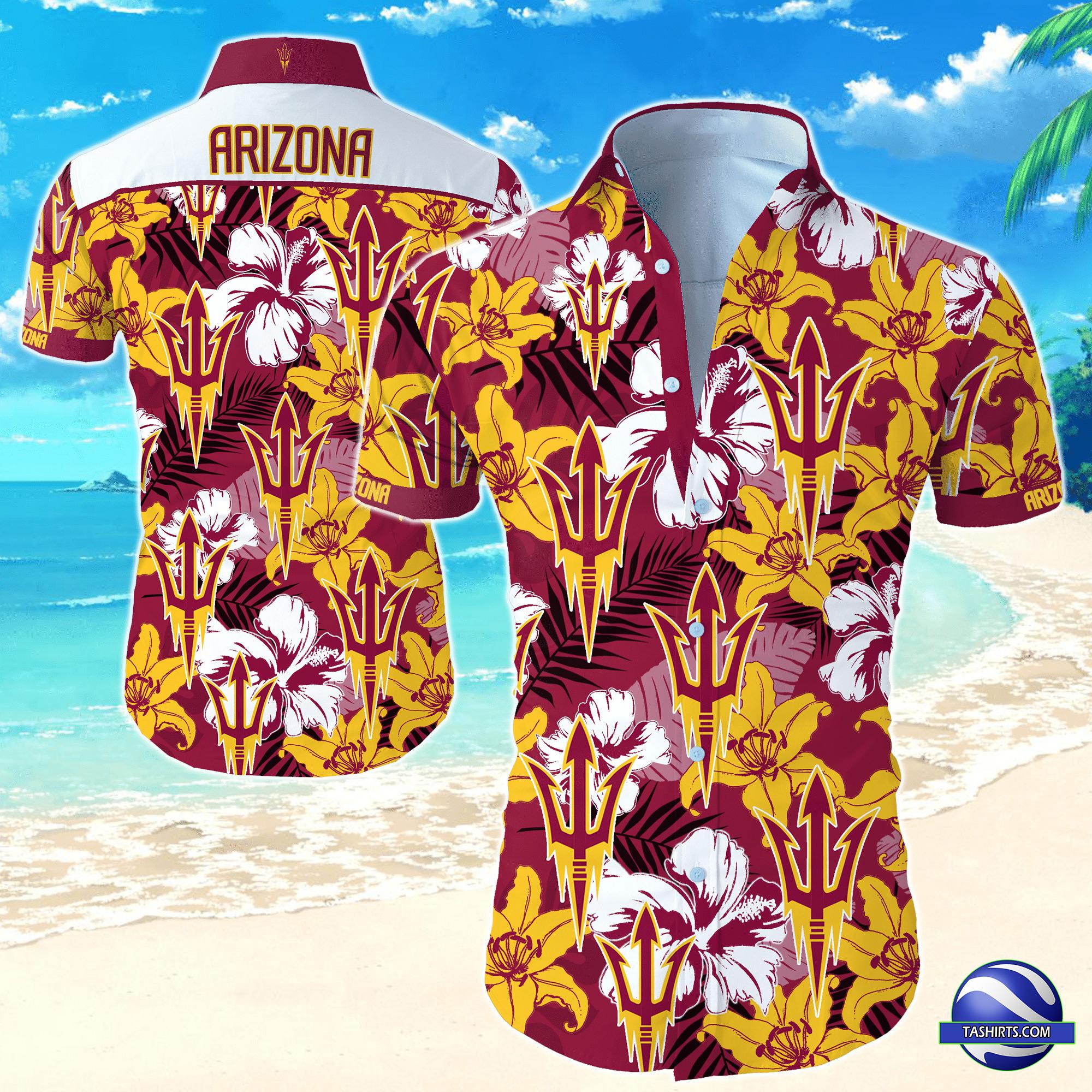 Arizona State Sun Devils NCAA Hawaiian Shirt
