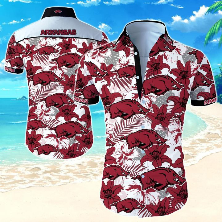 Arkansas Razorbacks NCAA Hawaiian Shirt