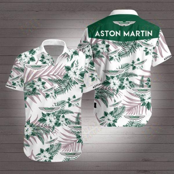 Aston Martin Racing F1 Hawaiian Shirt