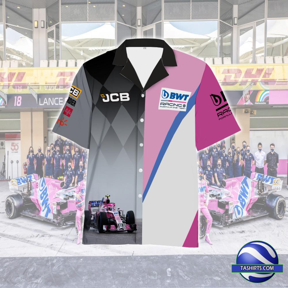 BWT racing point F1 Hawaiian Shirt