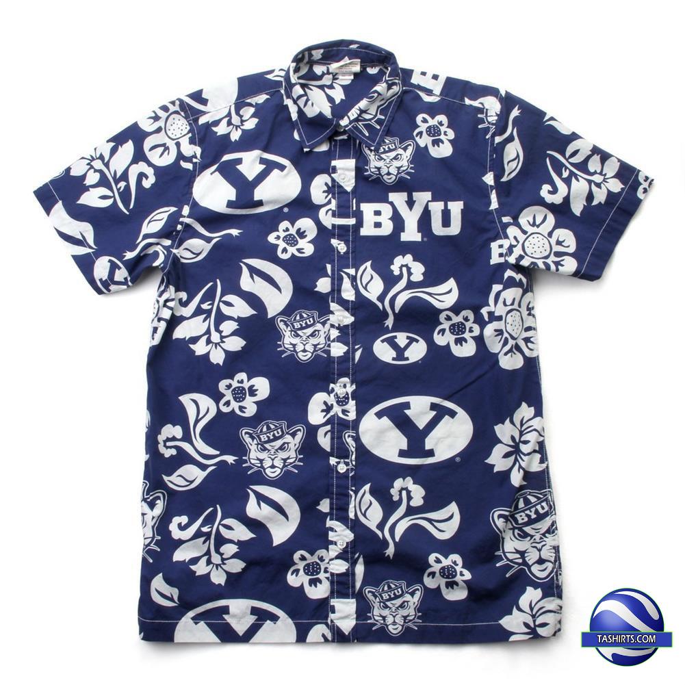 BYU Cougars NCAA Hawaiian Shirt