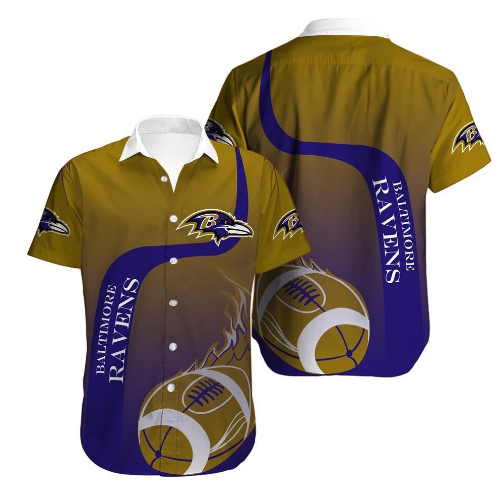 Baltimore Ravens Cool Hawaiian Shirt