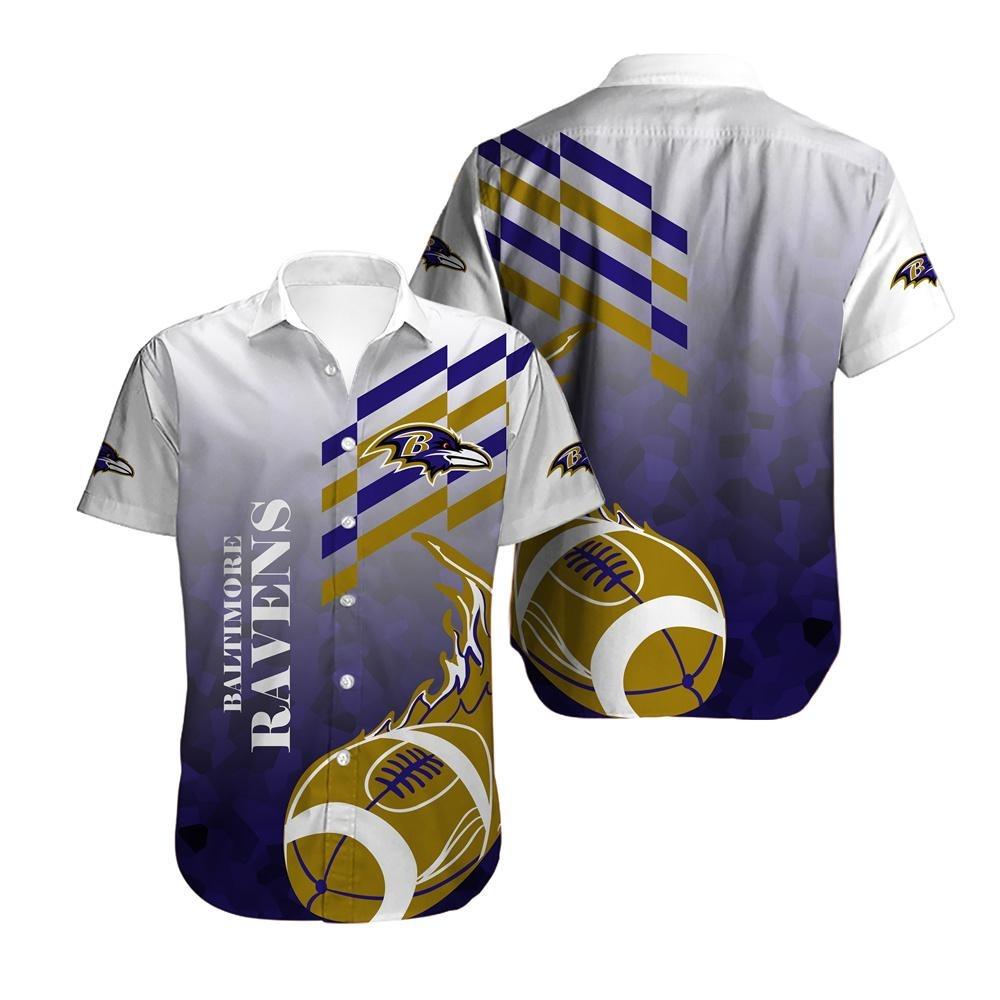 Baltimore Ravens NFL Hawaiian Shirt