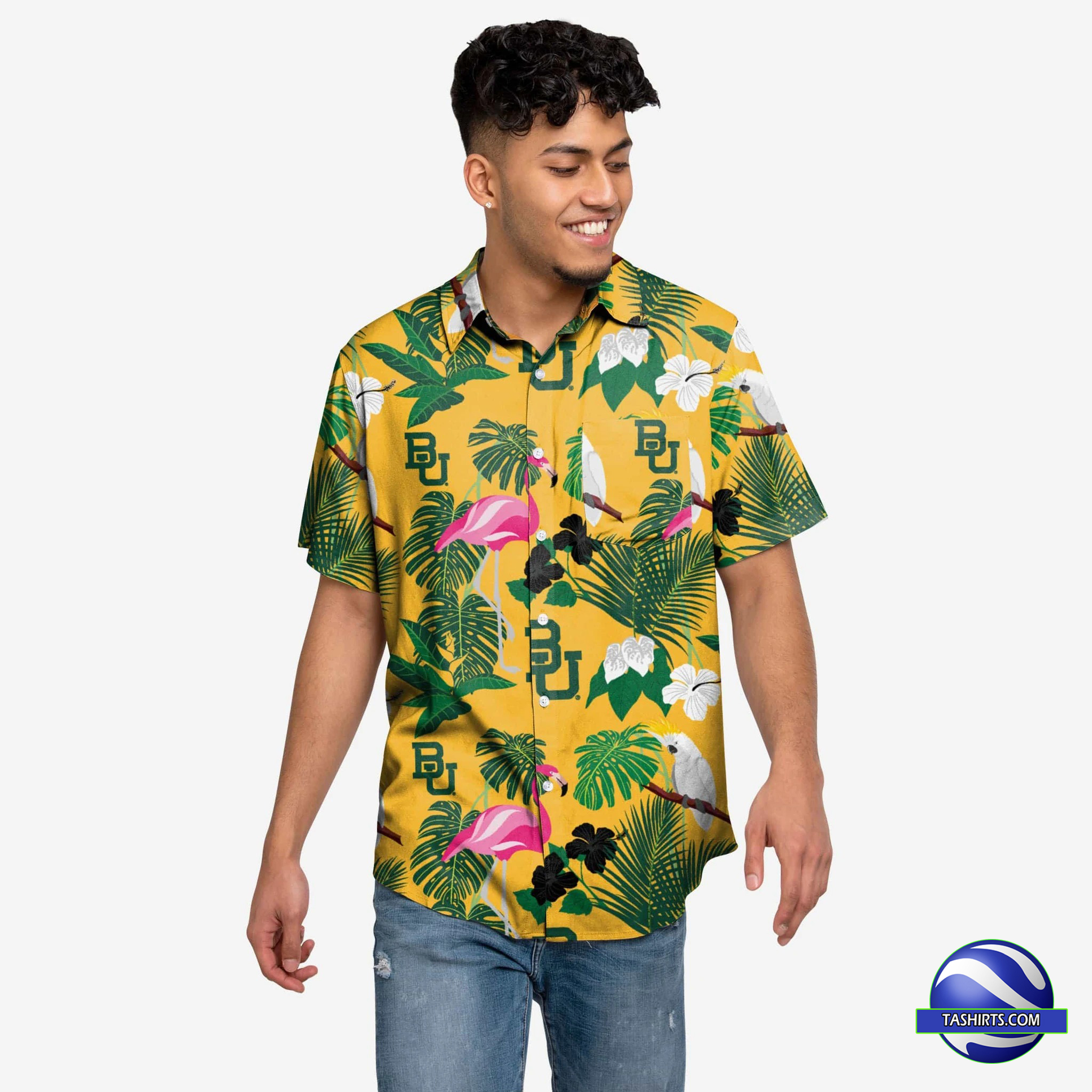 Baylor Bears NCAA Hawaiian Shirt