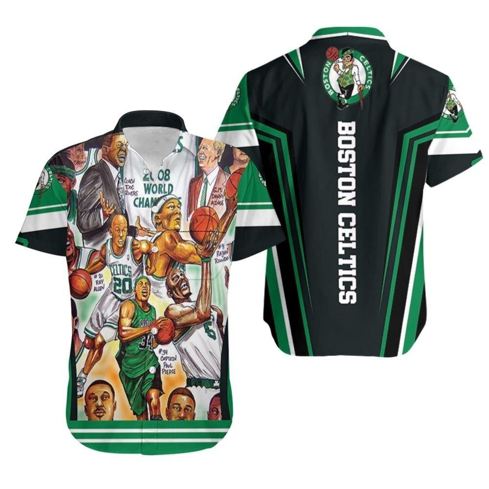 Boston Celtics NBA Hawaiian Shirt