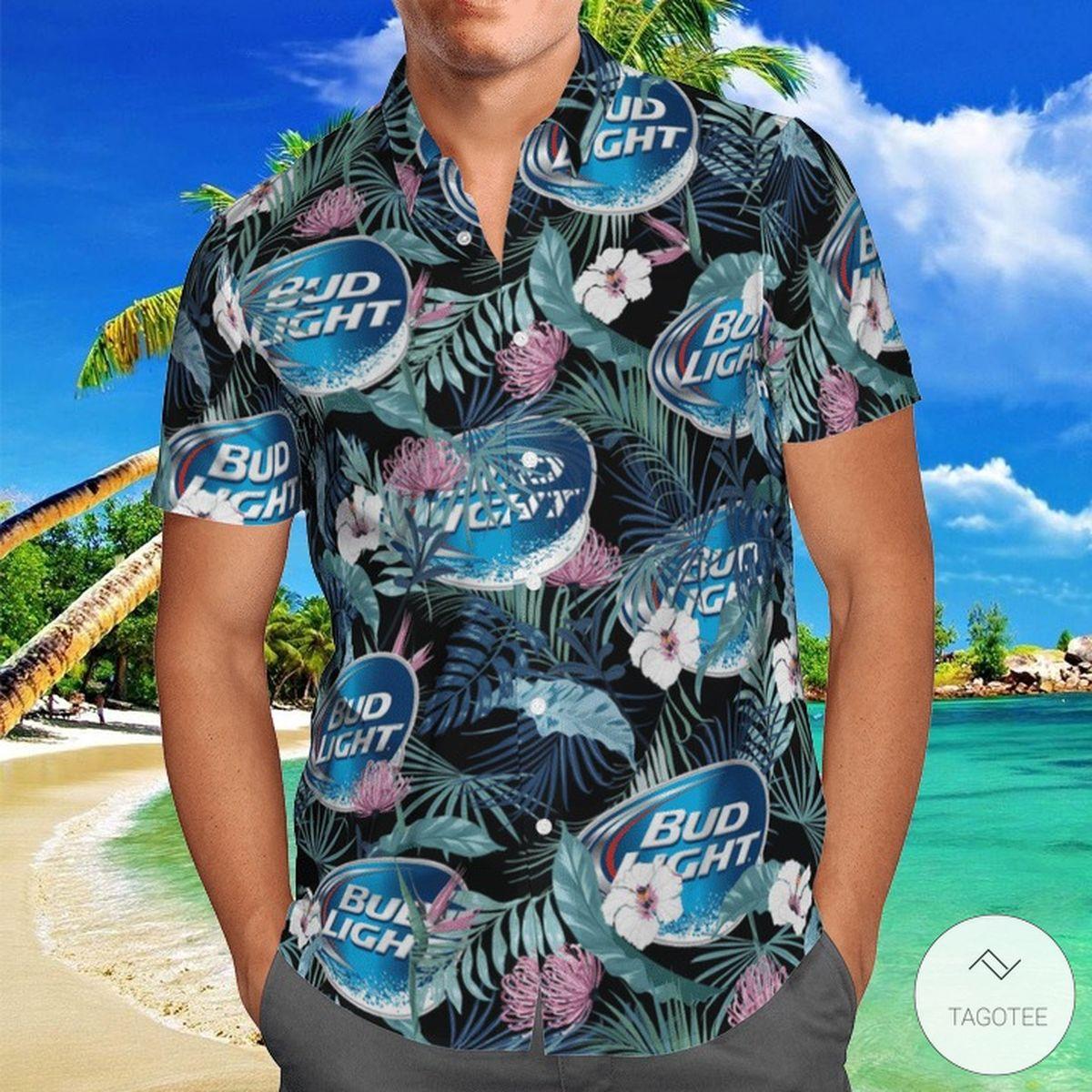 Bud Light Hawaiian Shirt