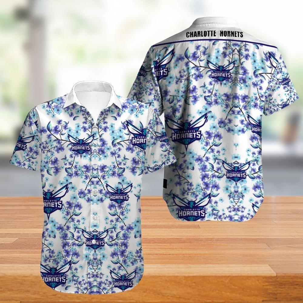 Charlotte Hornets NBA Hawaiian Shirt