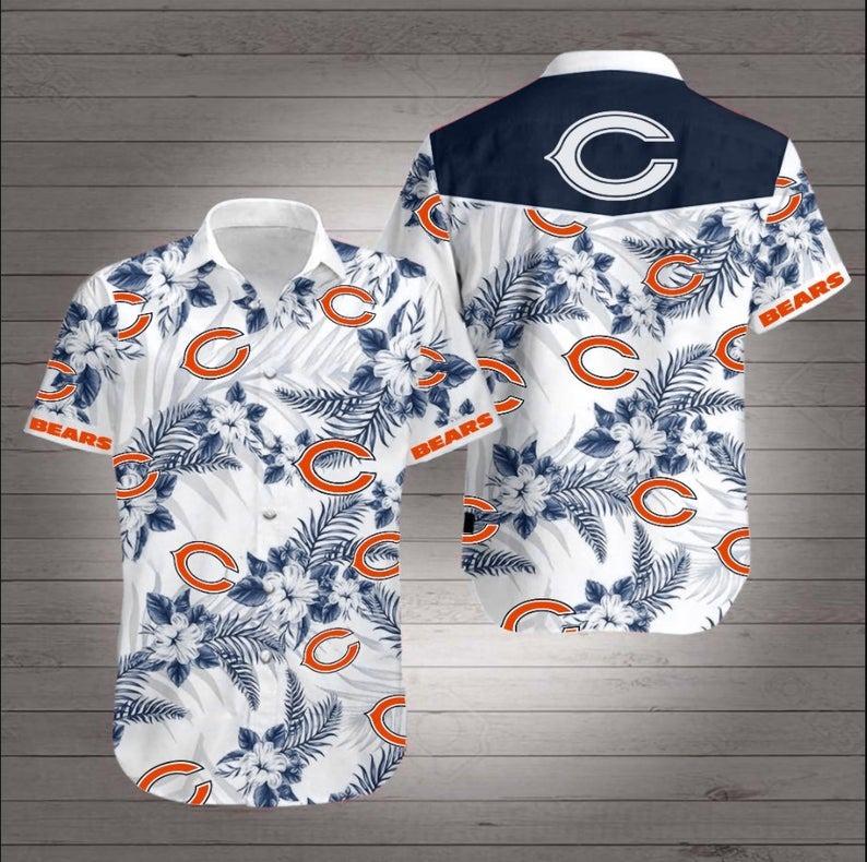 Chicago Bears NFL Hawaiian Shirt