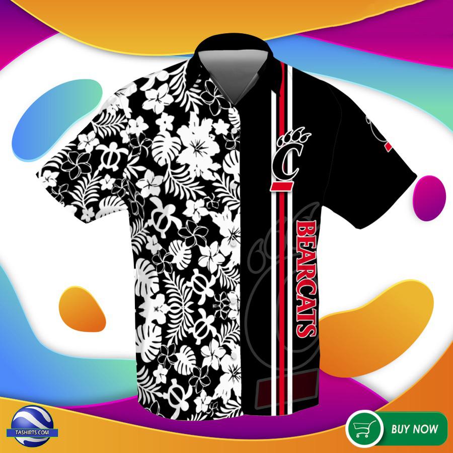 Cincinnati Bearcats NCAA Hawaiian Shirt