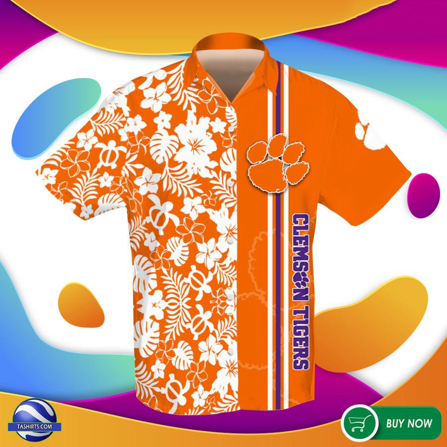Clemson Tigers NCAA Hawaiian Shirt