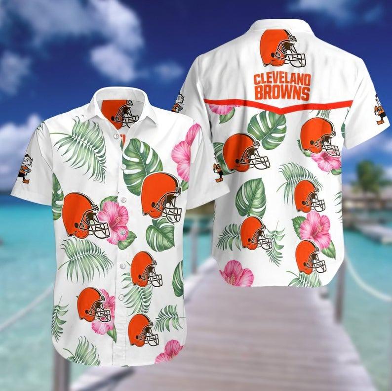 Cleveland Browns NFL Hawaiian Shirt
