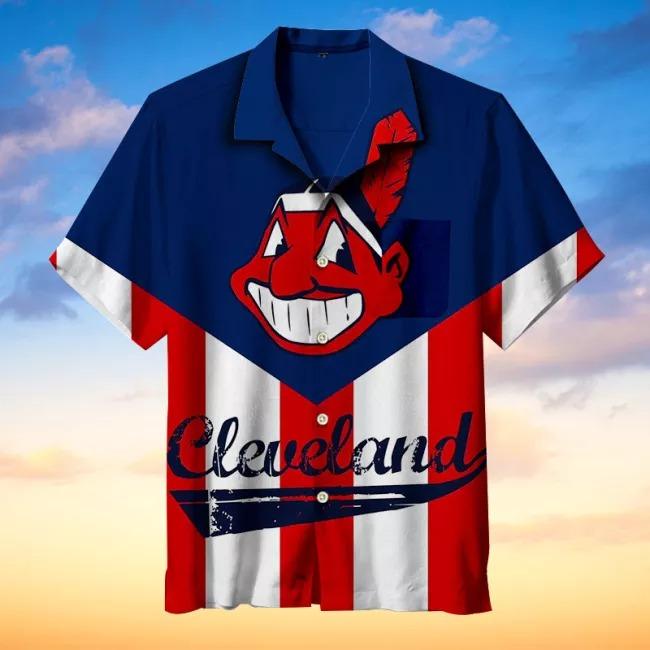 Cleveland Indians MLB Hawaiian Shirt