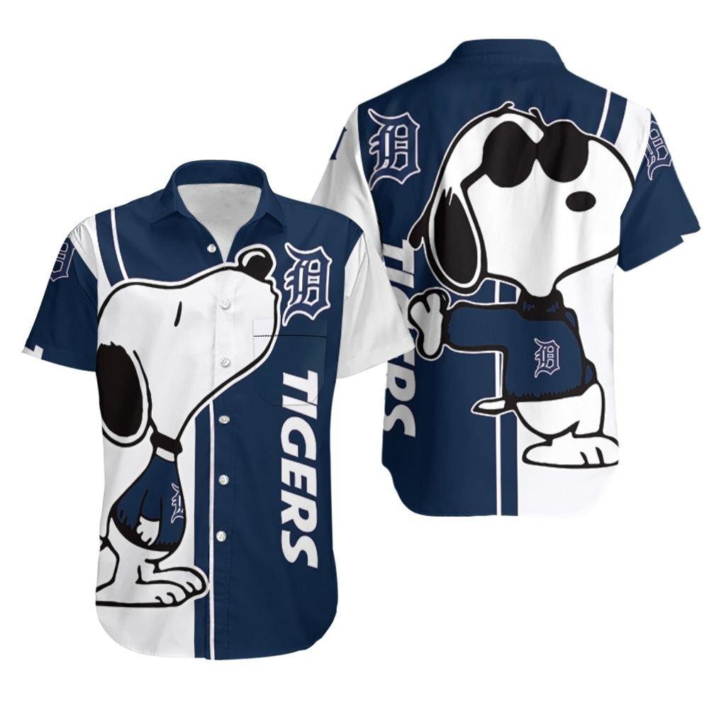 Detroit Tigers MLB Hawaiian Shirt