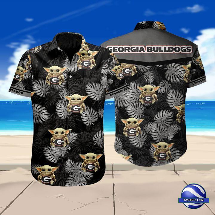 Georgia Bulldogs NCAA Hawaiian Shirt
