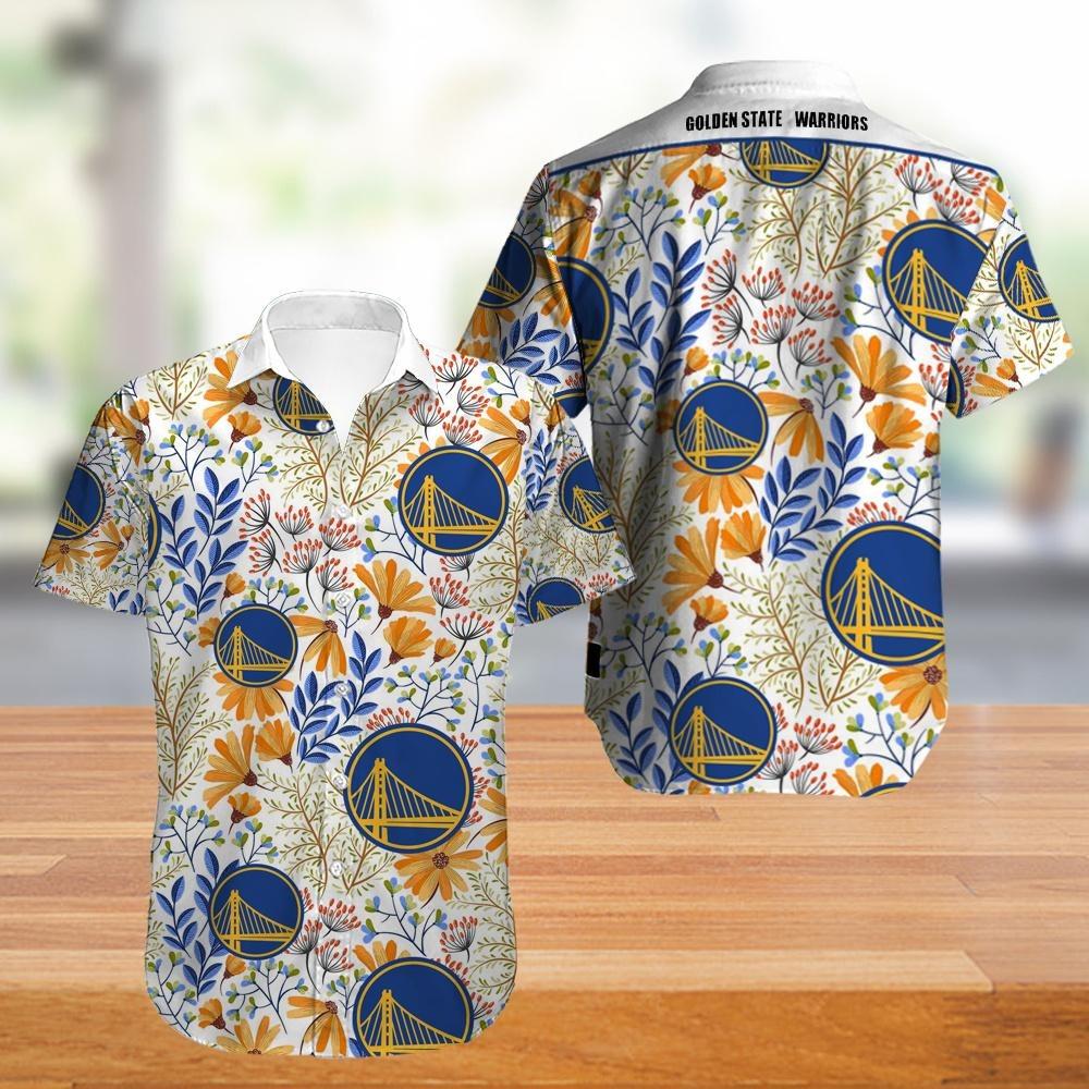 Golden State Warriors NBA Hawaiian Shirt