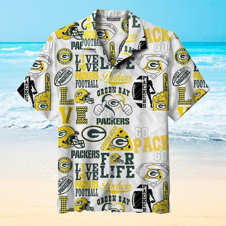 Green Bay Packers NFL Hawaiian Shirt