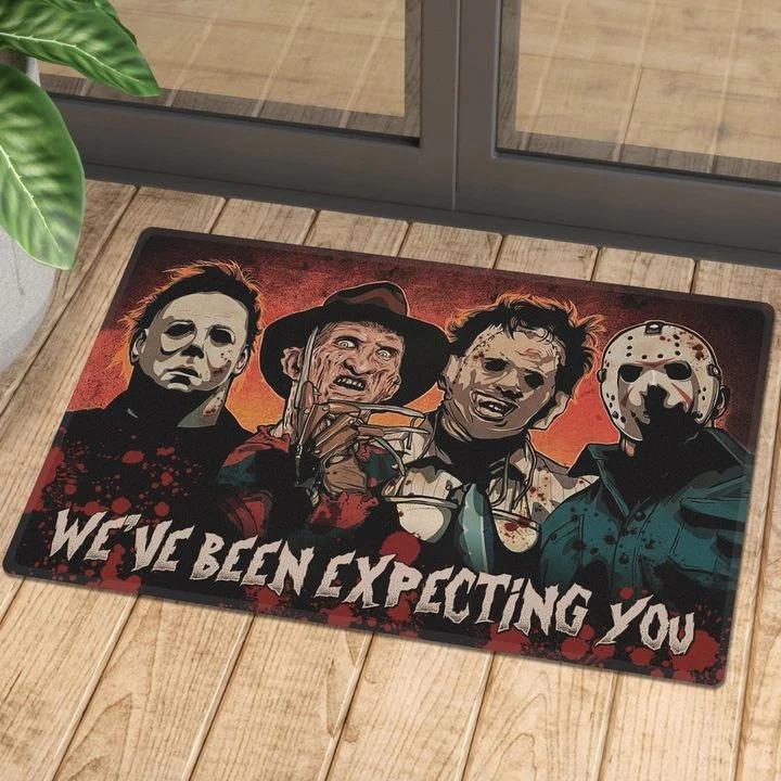 Halloween Horror Characters We've Been Expecting You Doormat