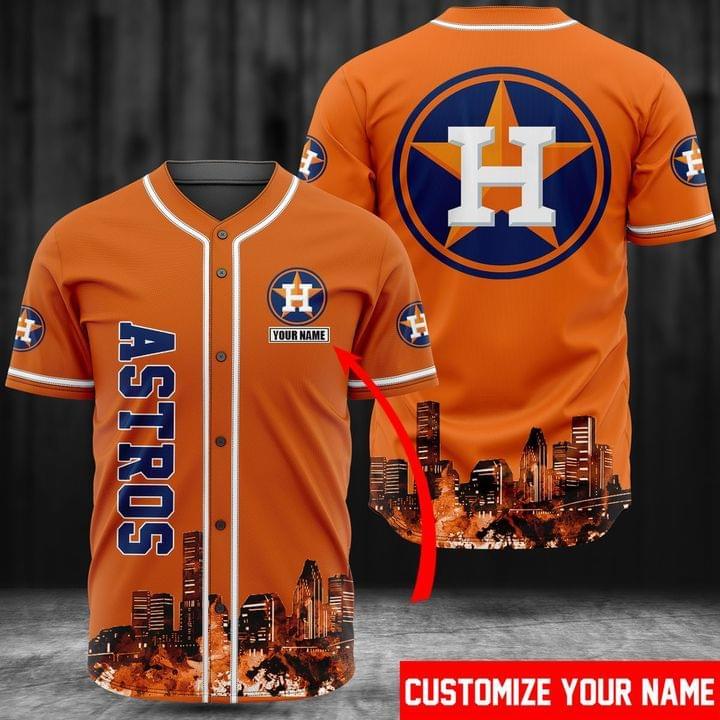 Houston Astros Baseball Jersey