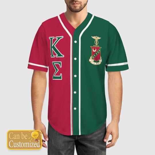 Kappa Sigma Personalized Baseball Jersey 1
