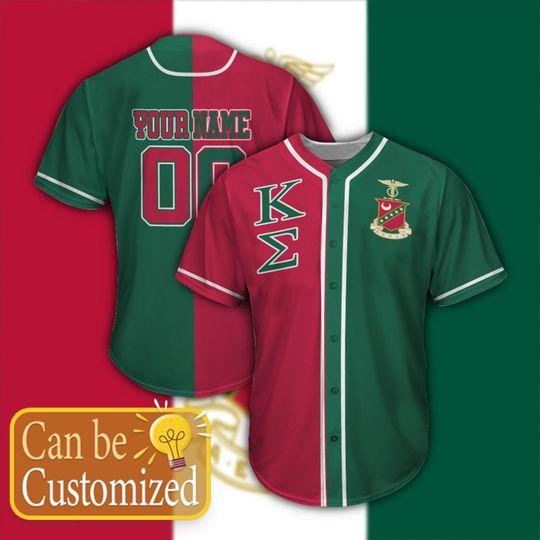 Kappa Sigma Personalized Baseball Jersey1 1