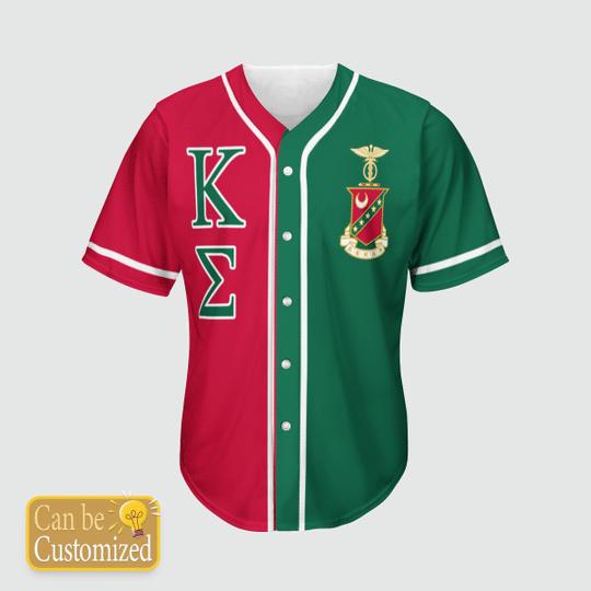 Kappa Sigma Personalized Baseball Jersey3 1
