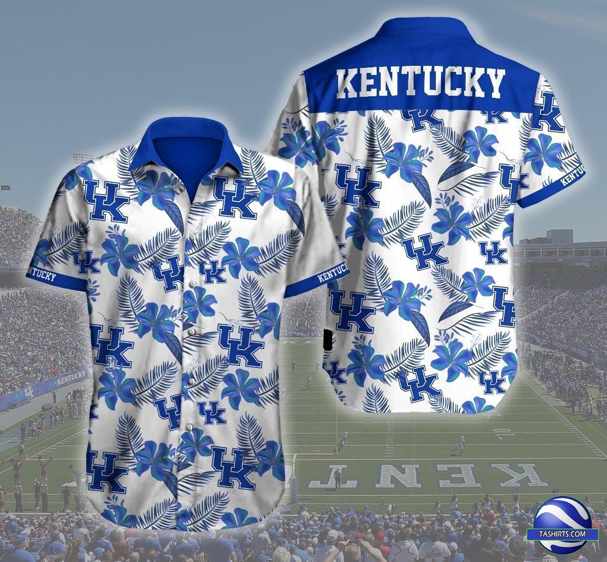 Kentucky Wildcats NCAA Hawaiian Shirt