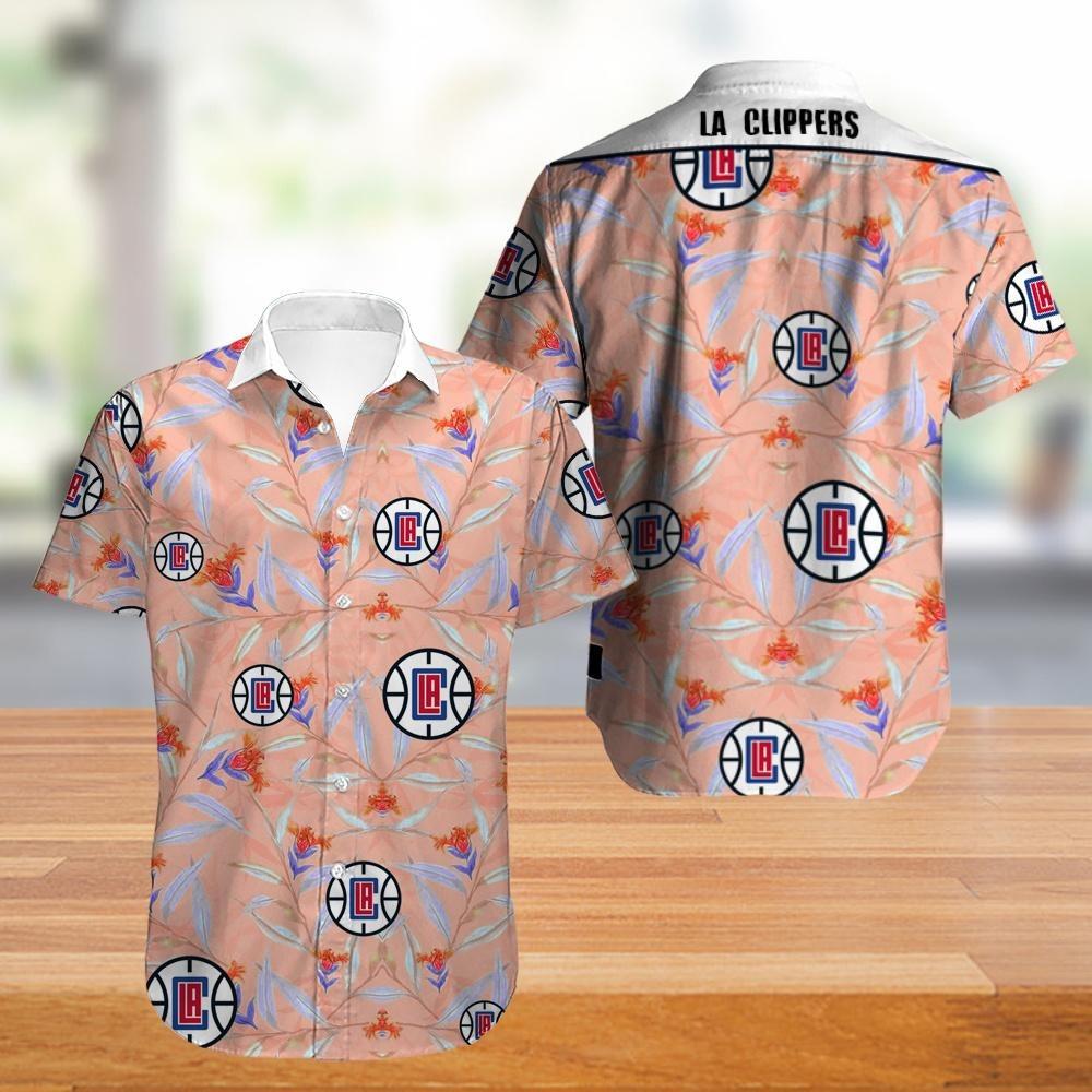 LA Clippers NBA Hawaiian Shirt
