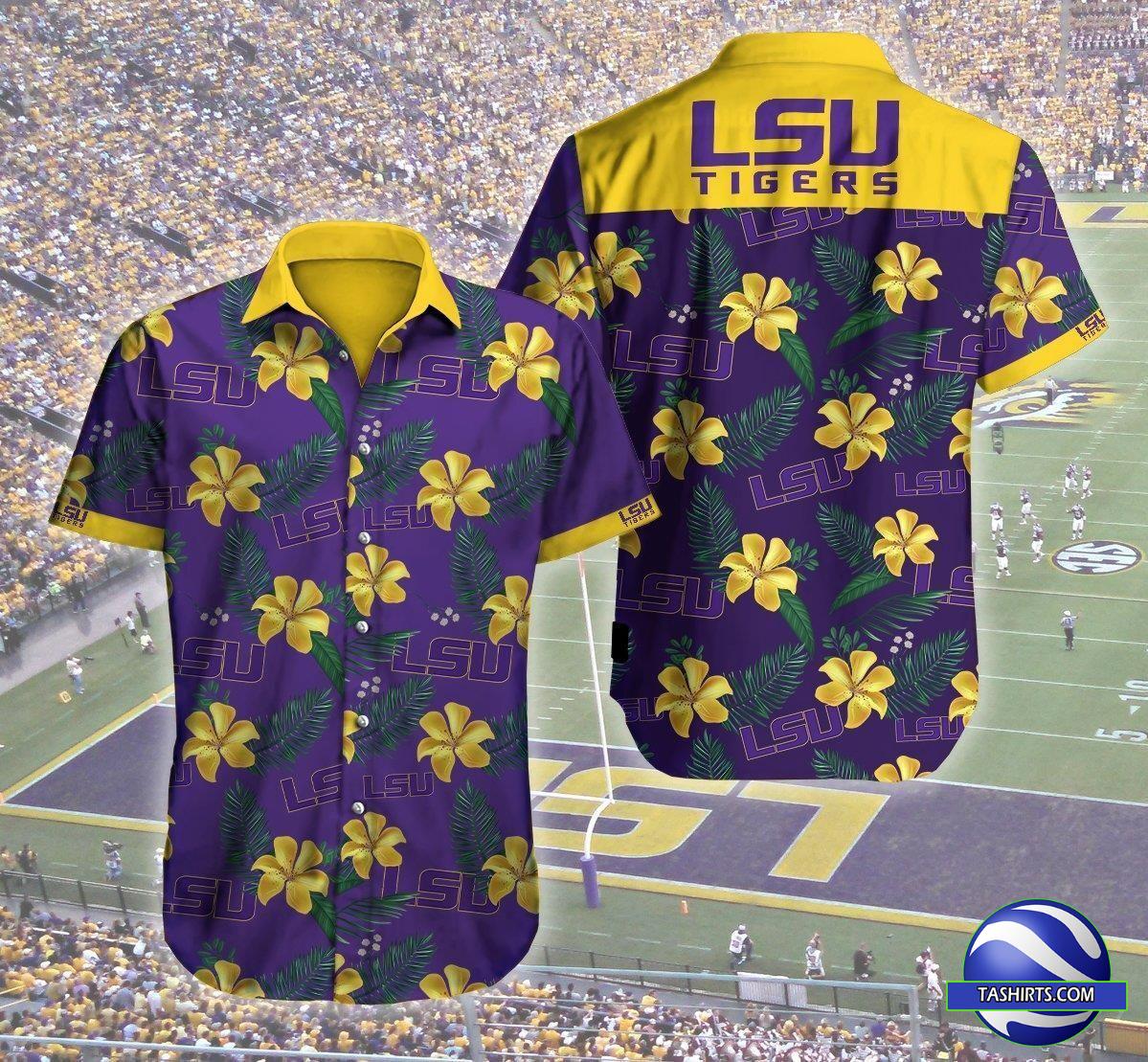 LSU Tigers NCAA Hawaiian Shirt