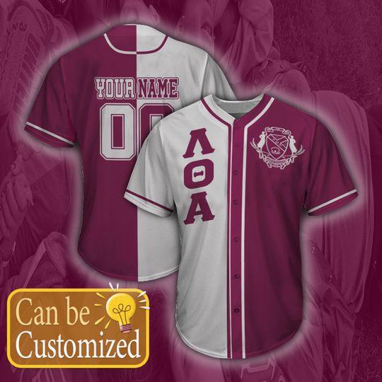 Lambda Theta Alpha Personalized Unisex Baseball Jersey