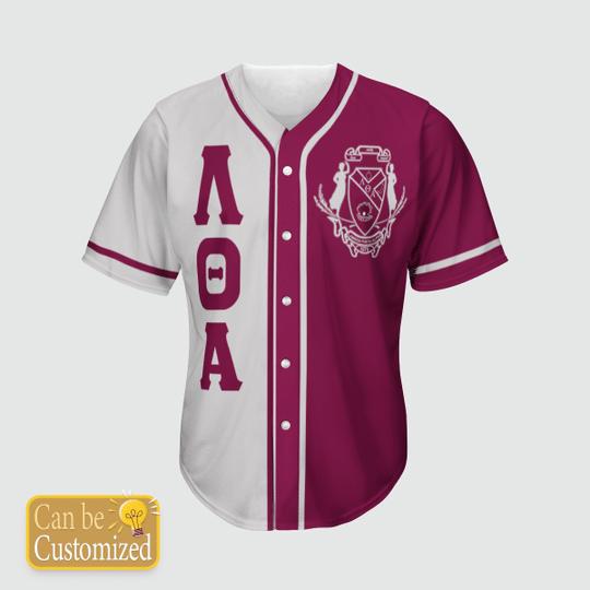 Lambda Theta Alpha Personalized Unisex Baseball Jersey1