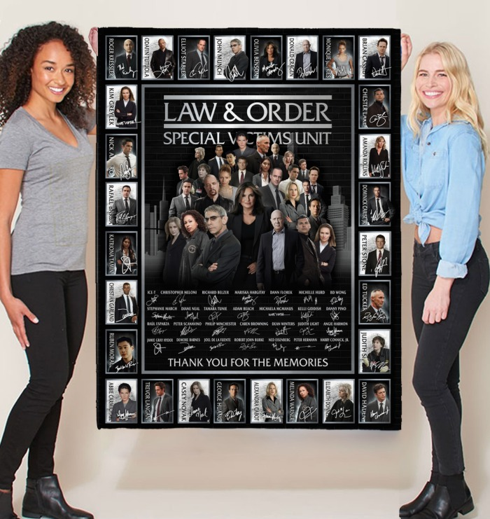 Law and order special victims unit actor signatures blanket 1