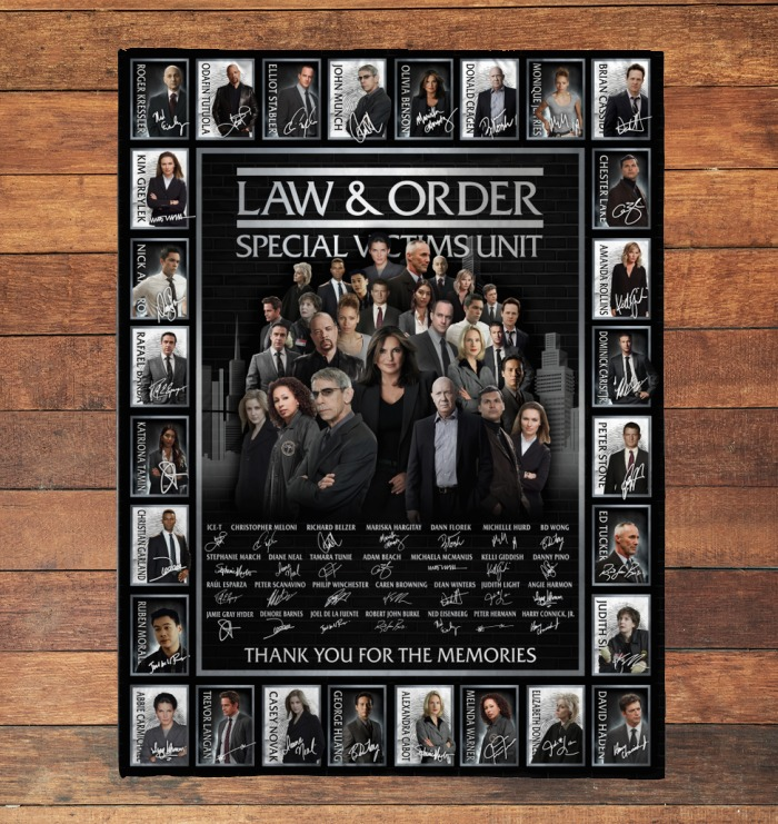 Law and order special victims unit actor signatures blanket 2