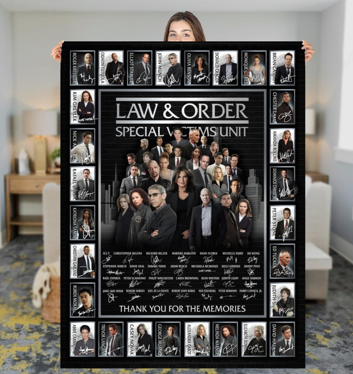 Law and order special victims unit actor signatures blanket 3
