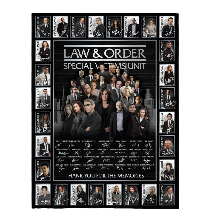Law and order special victims unit actor signatures blanket