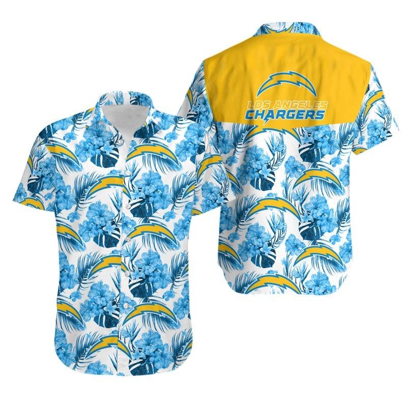 Los Angeles Chargers NFL Hawaiian Shirt