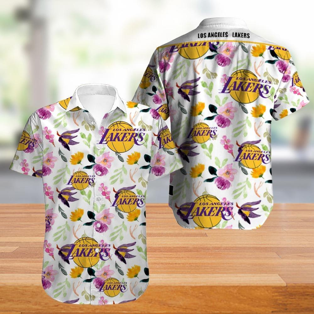 Los Angeles Lakers NBA Hawaiian Shirt