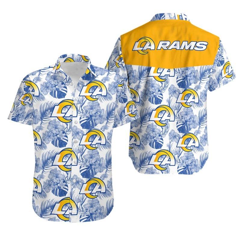 Los Angeles Rams NFL Hawaiian Shirt