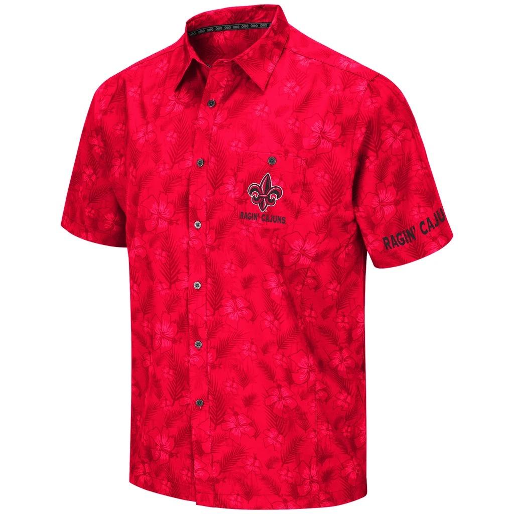 Louisiana Ragin Cajuns NCAA Hawaiian Shirt