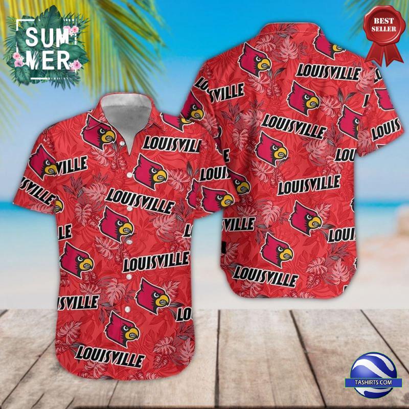 Louisville Cardinals NCAA Hawaiian Shirt