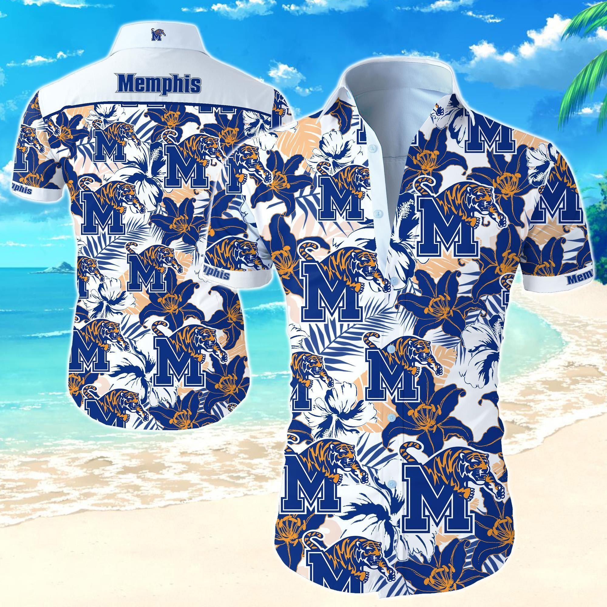 Memphis Tigers NCAA Hawaiian Shirt