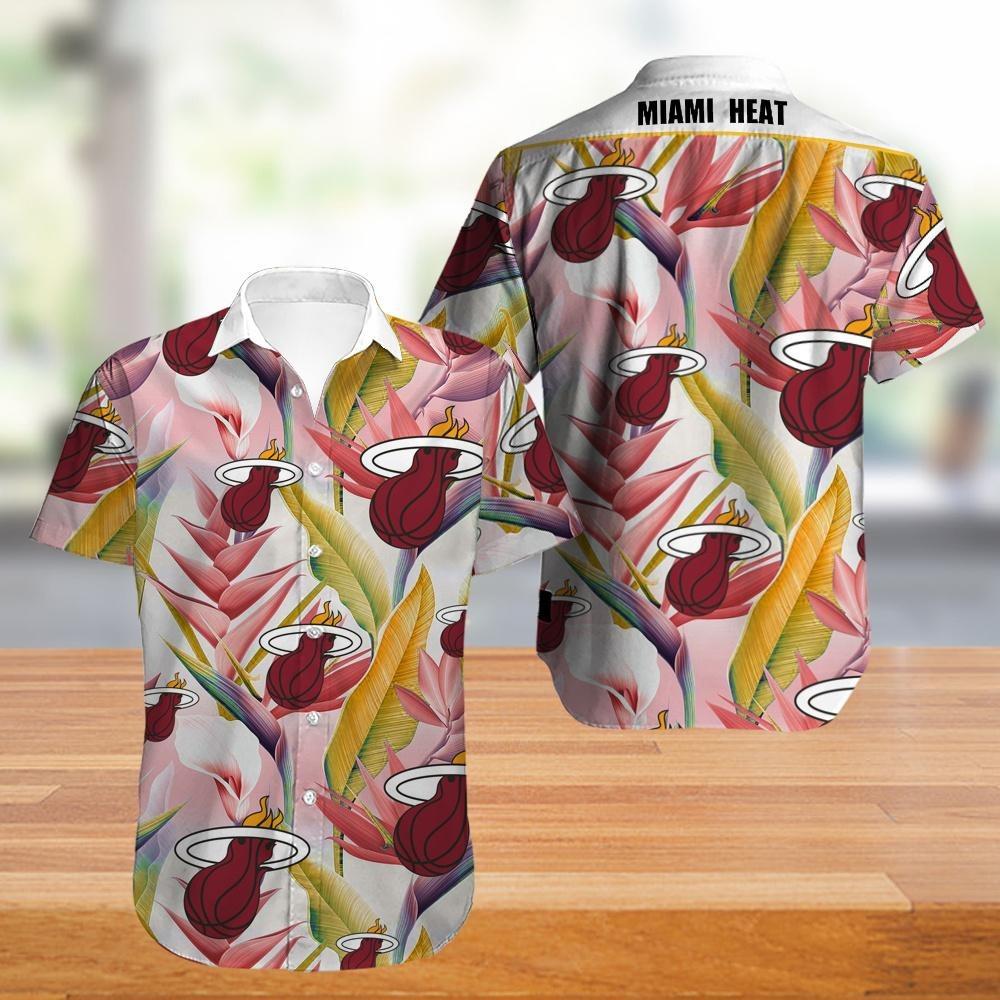 Miami Heat NBA Hawaiian Shirt