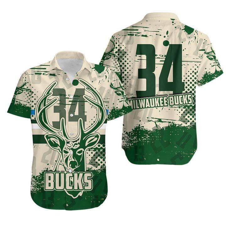 Milwaukee Bucks NBA Hawaiian Shirt