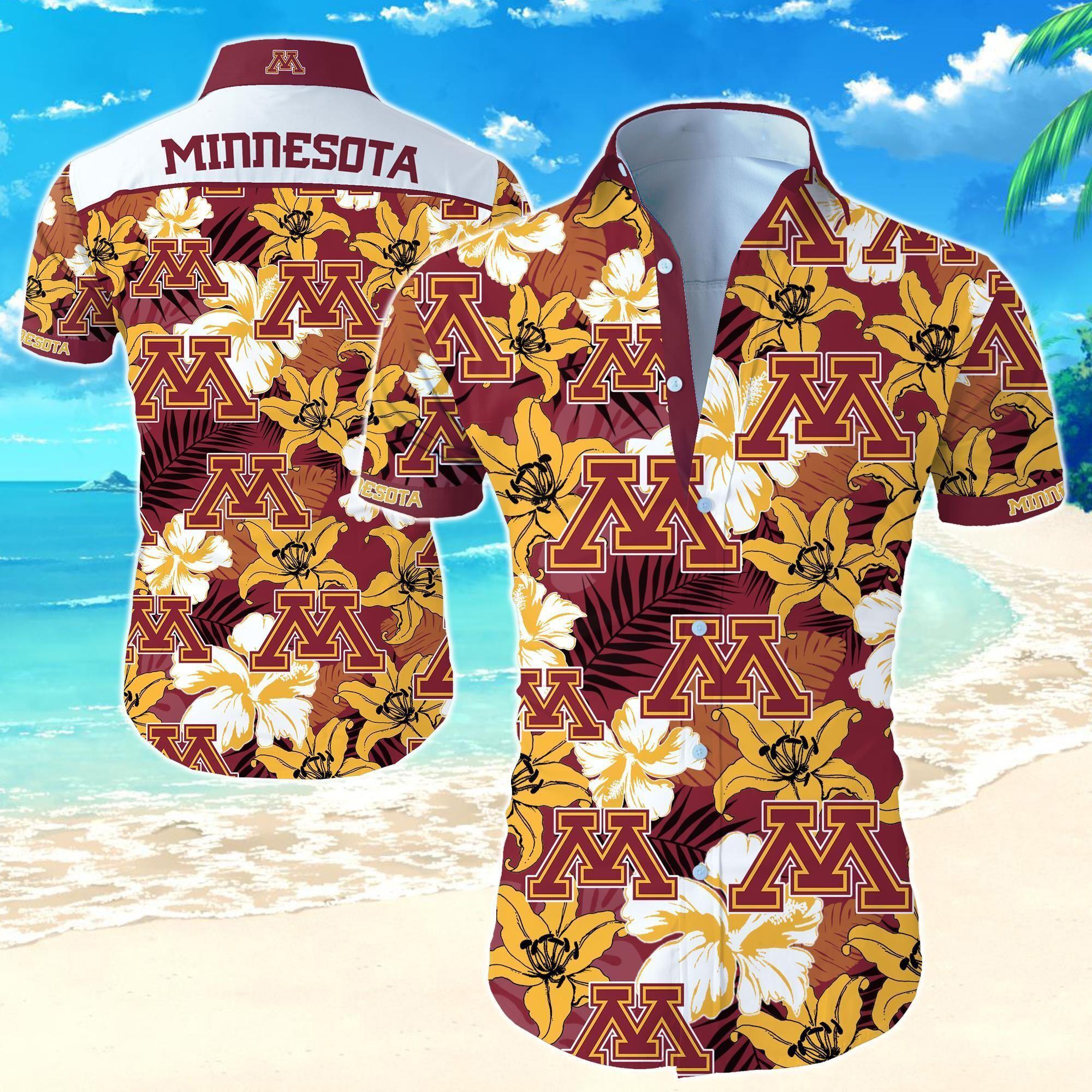 Minnesota Golden Gophers NCAA Hawaiian Shirt