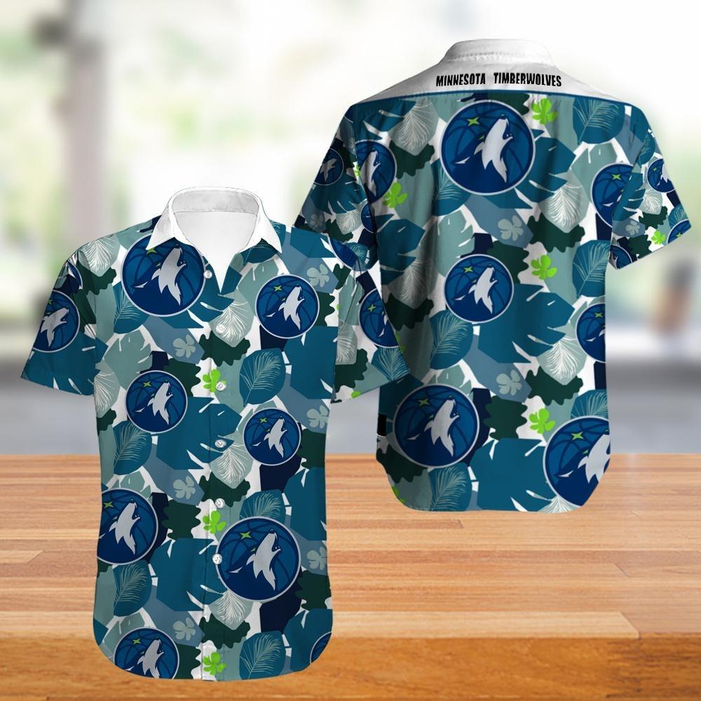 Minnesota Timberwolves NBA Hawaiian Shirt