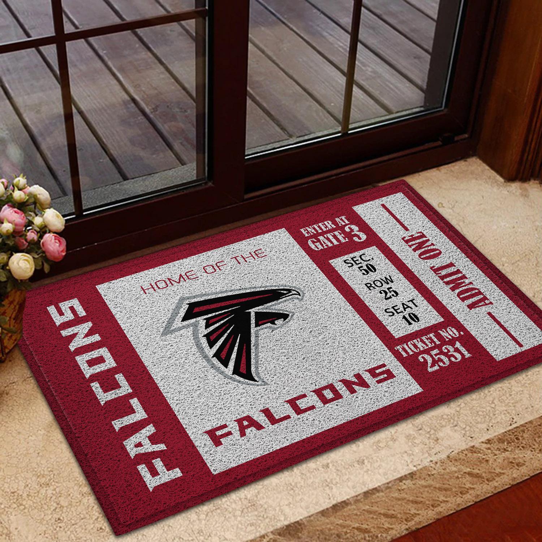 NFL Atlanta Falcons Team Ticket Runner Doormat