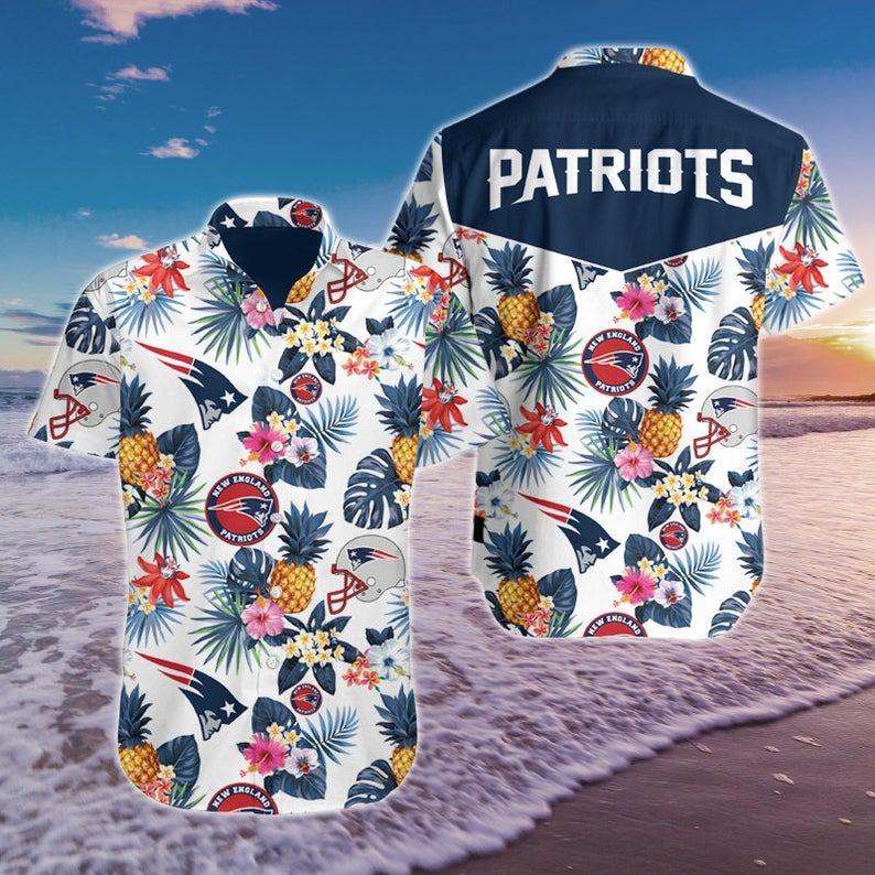 New England Patriots NFL Hawaiian Shirt