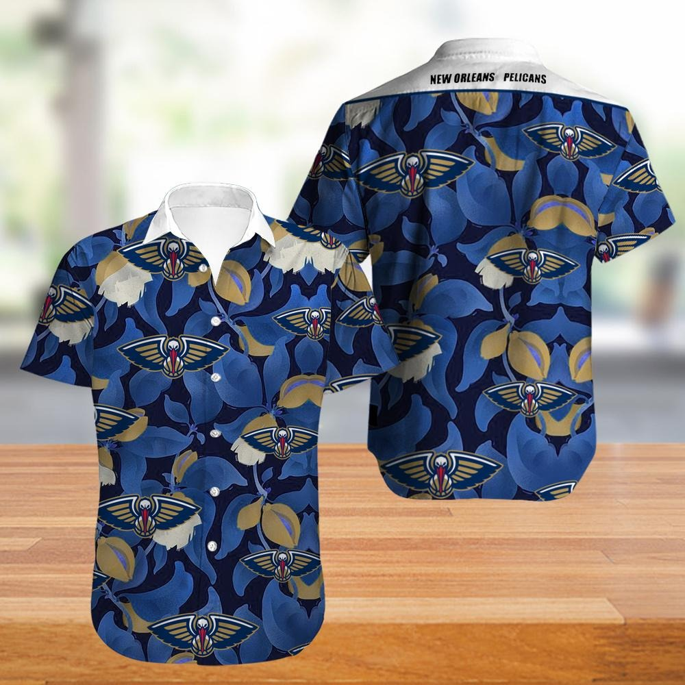 New Orleans Pelicans NBA Hawaiian Shirt